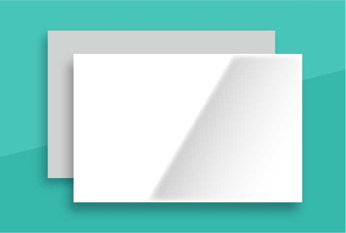 Gloss Coated Standard Double Sided Business Card